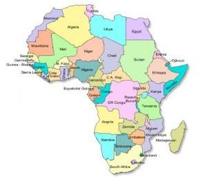 African export map